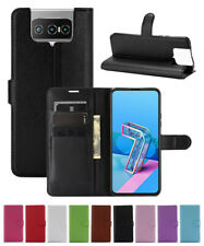 Leather slot wallet stand Cover Case For Asus Zenfone 7/7 PRO ZS670KS ZS671KS