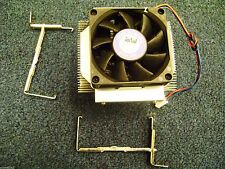 Emachines T2958 Genuine  Intel Socket 478 CPU Cooling Heatsink w/ Fan & Clips