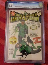 Green Lantern / Green Arrow #87 CGC 8.5 : 1st appearance John Stewart!