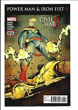 POWER MAN & IRON FIST # 9 (CIVIL WAR II, DEC 2016), NM NEW