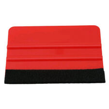 3M Pro Felt Edge Vinyl Car Van Bike Wrap Wrapping Squeegee Tool Scraper Red 1PC