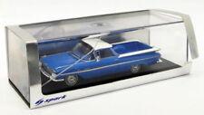 Véhicules miniatures bleus Spark Chevrolet