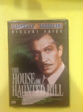 House on Haunted Hill  (DVD,2001,Vincent Price)Authentic US RELEASE