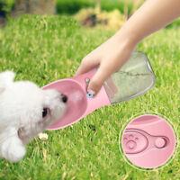 350ml Cat Dog Water Bottle Portable Pet Drinking Dispenser Feeder for Outdoor
