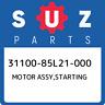 31100-85L21-000 Suzuki Motor assy,starting 3110085L21000, New Genuine OEM Part