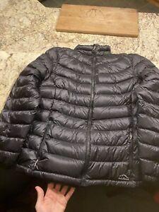 LL Bean womens XL Puffer down coat