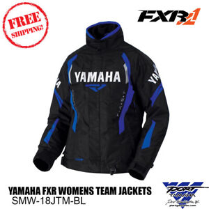 Yamaha FXR Womens Team Jacket Blue Size 4, 6, 8, 10, 12, 14, 16, 18