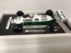 1/18 Minichamps Williams FW07B Alan Jones 1980 World Champion
