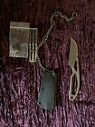 """""""Reel Steel"""" Hunting Knife with case/accessories-""""Ostap Hel"""""""