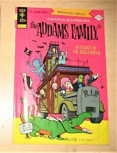 ADDAMS FAMILY     #1 GOLD KEY   #1 CARTOON comic HANNA BARBERA
