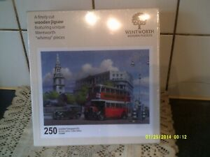 NEW SEALED DISCONT.WENTWORTH 250 ' LONDON TRANSPORT ' BY MIKE JEFFRIES
