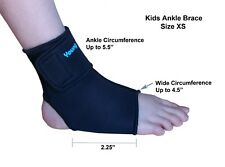 Kids Ankle Brace - Sports Protection, Healing Support- Neoprene -L or R -Size XS