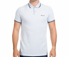 Ben Sherman 100% Cotton Polo, Rugby Casual Shirts for Men