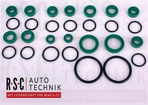 Seal kit for all top hydraulic cylinders of Mercedes Benz SL R129 89-01 Full set
