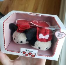 Disney Tsum Tsum Valentine's Day 2017 Minnie Mickey Mouse Chocolate Scented New