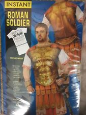 Roman Soldier Adult Printed Costume Standard Size NEW Top Kilt