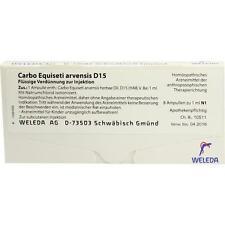 CARBO EQUISETI ARVENSIS D 15 Ampullen 8X1ml PZN 1620242