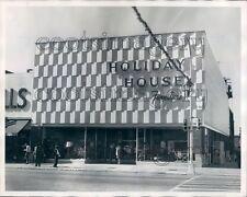 1965 Holiday House Furniture Store 1960s Columbus Georgia Press Photo