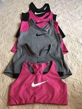 Nike Ladies Clothing Bundle Size Medium, 3 Vests & 2 Sports Bras