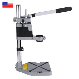 Bench Drill Press Stand Clamp Base Frame for Electric Drills DIY RepairTool C9S8