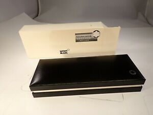 MONTBLANC FOUNTAIN PEN BOX