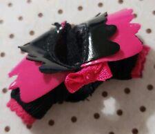 MONSTER HIGH DOLL CLOTHING SWEET SCREAMS DRACULAURA BLACK PINK SHRUG JACKET ONLY