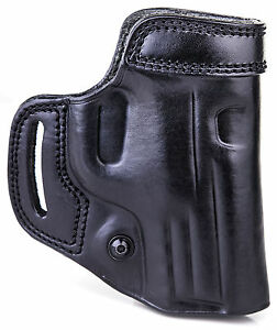 """The Reholster - KIRO Hand Made Double Leather Holster for Springfield XD40 4"""""""