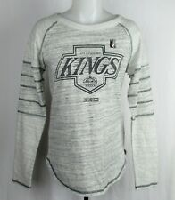 Los Angeles Kings NHL CCM Women's Gray Long Sleeve Shirt