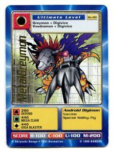 MetalGreymon Bo-80 Gold Stamp Card Digimon TCG Digi-Battle Series 2 Bandai LP