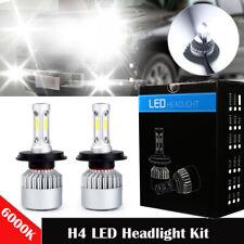 2X H4 9003 HB2 LED Headlight Kit 2400W 295000LM Hi-Lo Beam Bulbs 6000K White #K