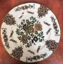 Delft's Handmade for Jema Floral Platter HOLLAND