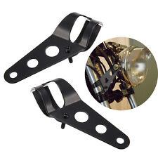 Supporto Staffa Porta Fanale Faro Anteriore Moto Fissaggio Universale 34mm-46mm