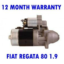 FIAT REGATA 80 1.9 1986 1987 1988 1989 REMANUFACTURED STARTER MOTOR