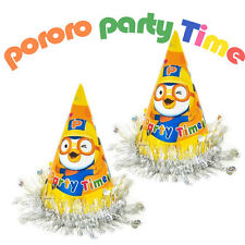 Pororo & Friends Happy Birthday Theme Party Set Balloon, Cone Hat, Cup