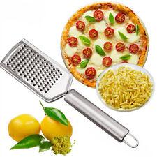 Edelstahl Zester Käsereibe Küchenreibe Muskatreibe Reibe Parmesanreibe HOT
