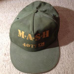 Vintage MASH 4077th TV Show Snapback hat