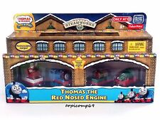 Thomas The Red Nosed Engine Set THOMAS AND FRIENDS Take N' Play Take Along Toys