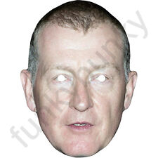 Steve Davis, Celebrity Snooker Personality Card Mask. All Our Masks Are Pre-Cut!
