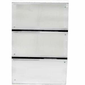 Ideal Pet Products 3-Panel Airseal and VIP Pet DoorReplacement Flap Extra... New