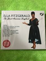The Great American Songbook Ella Fitzgerald NEW SEALED SLIP COVER 49 TRACKS 2 CD