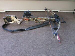 Ten Point Wicked Ridge Warrior HL Crossbow W Tru Glo Scope Nice