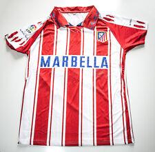 Camiseta Futbol Retro Simeone 1995-1996 Atletico de Madrid año doblete