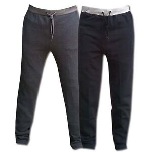 MENS FLEECE TROUSERS JOGGERS JOGGING TRACKSUIT BOTTOMS ELASTICATED GYM CASUAL