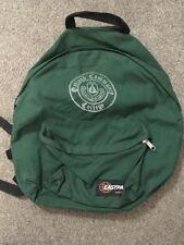 Vintage Eastpak Made In USA Green Backpack - Oakland Community College