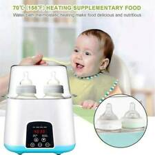 Bottle Warmer,5-in-1 Fast Baby Bottle Warmer and Sterilizer with Timer Baby Food