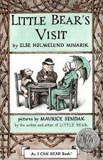 Little Bear's Visit  (ExLib) by Else Holmelund Minarik