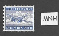 MNH stamp  / Military Air Post / Feldpost / Junkers 52 / WWII Third Reich / MNH