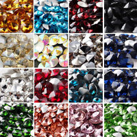 15PCS 14mm Crystal Rivoli Beads XILION ELEMENTS AB DIY New Colors