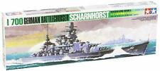TAMIYA 1/700 SHIPS SCHARNHORST (WW2 GERMAN) battleship model kit