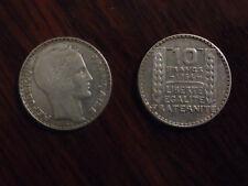 Pièce 10 francs argent 1934